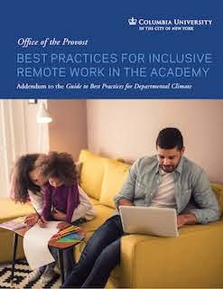 Best Practices for Inclusive Remote Work in the Academy